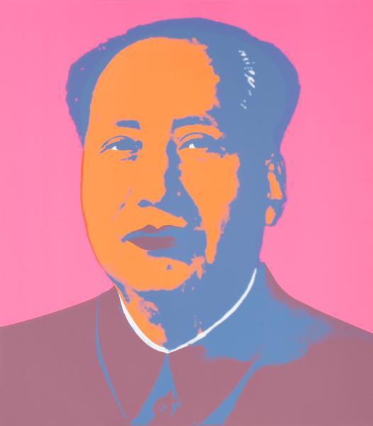 Mao Tse-Tung Kopf Pink