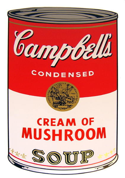 Campbell`s Soup - Cream of Mushroom