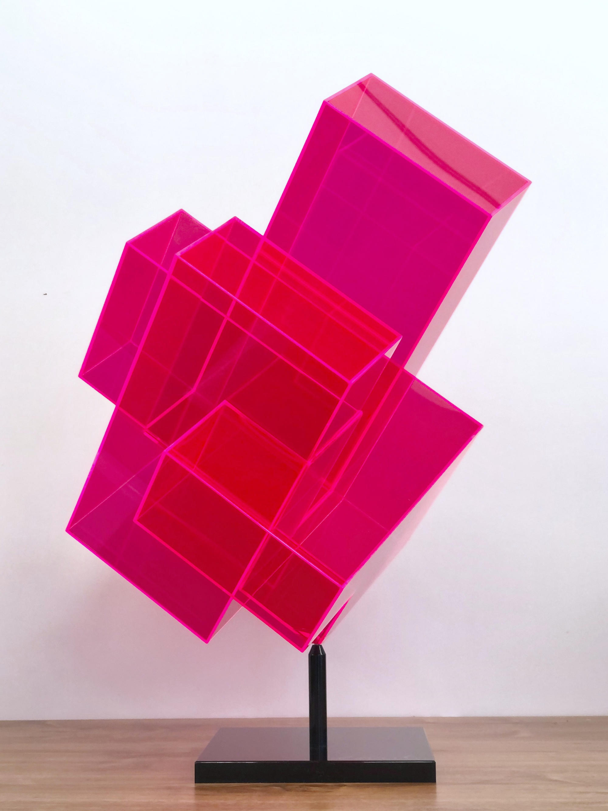Candy Cube red - Skulptur