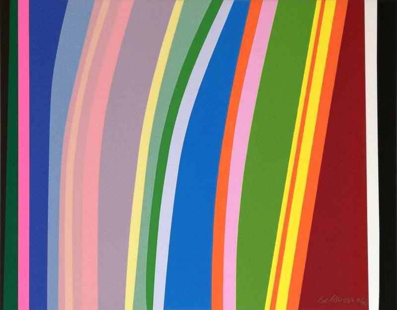 Landscape - Hommage to Raphael Soto