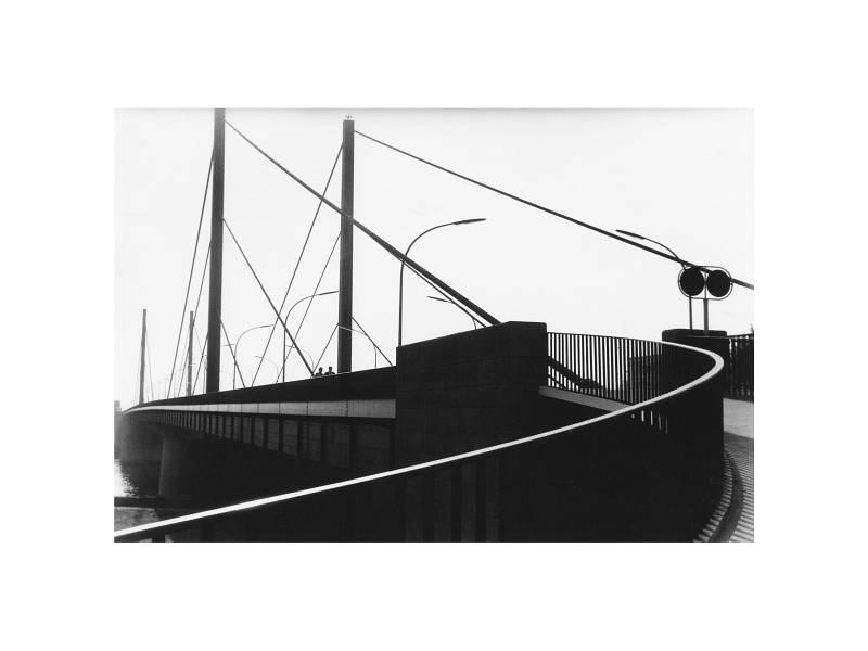 Düsseldorf, Theodor-Heuss-Brücke, 1960