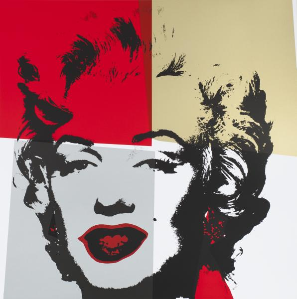 Marilyn Gold Kopf IV