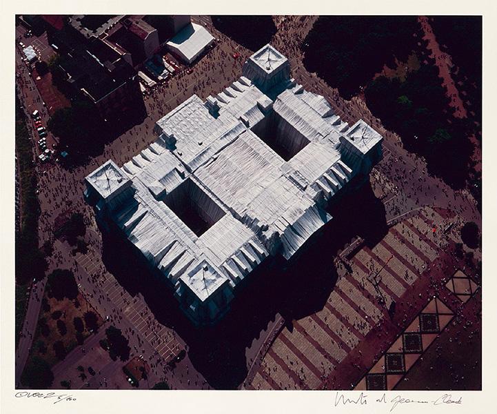 Reichstag Mappe II, Dach