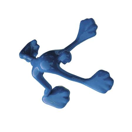 Flossi Klein IV, Blau Mittel