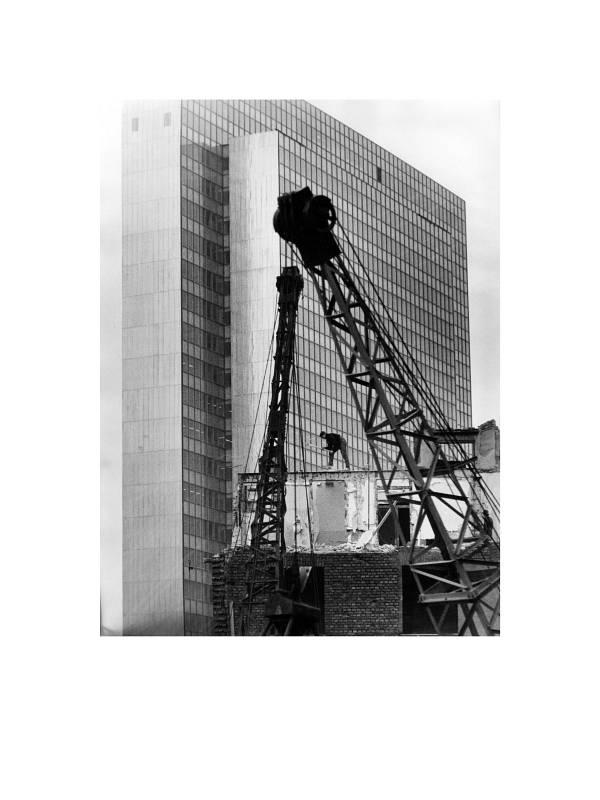 Düsseldorf, Dreischeibenhaus, 1959