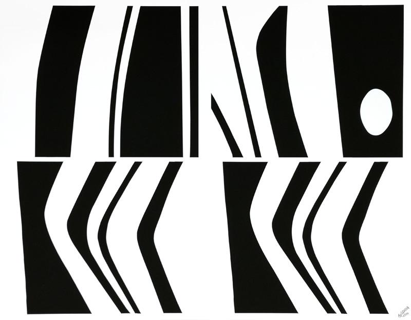 Black and White - Hommage to Eduardo Chillida