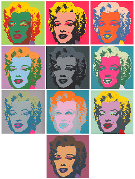 Marilyn Kopf - Set of 10