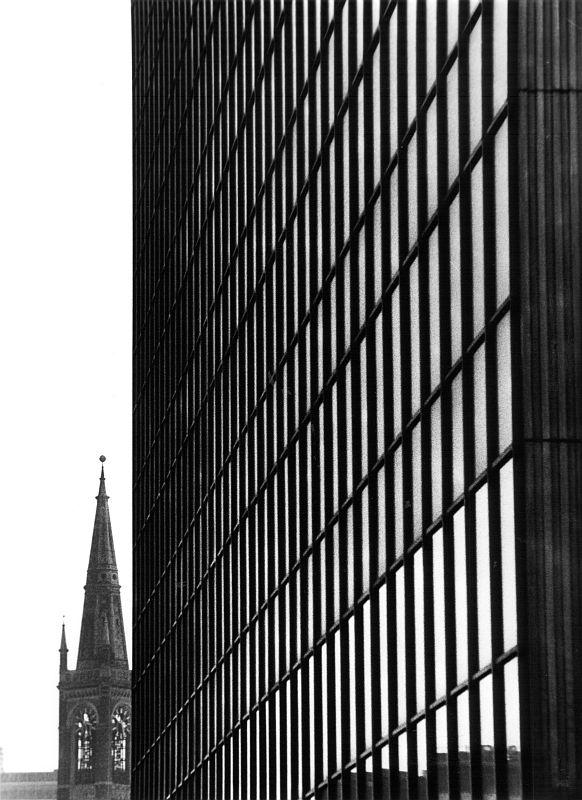 Düsseldorf, Dreischeibenhaus II, 1964
