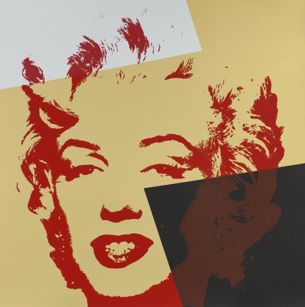 Marilyn Gold Kopf X