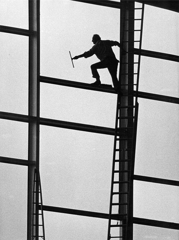 Fensterputzer, 1966