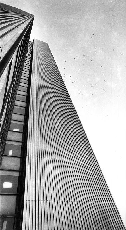 Düsseldorf, Dreischeibenhaus III, 1964