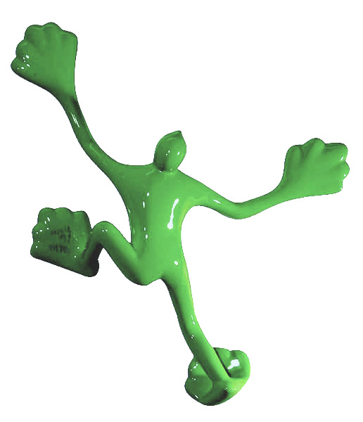 Flossi Klein VII, grün - mittel