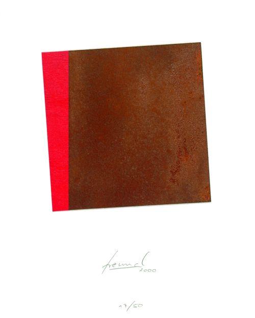 Schräge Rot