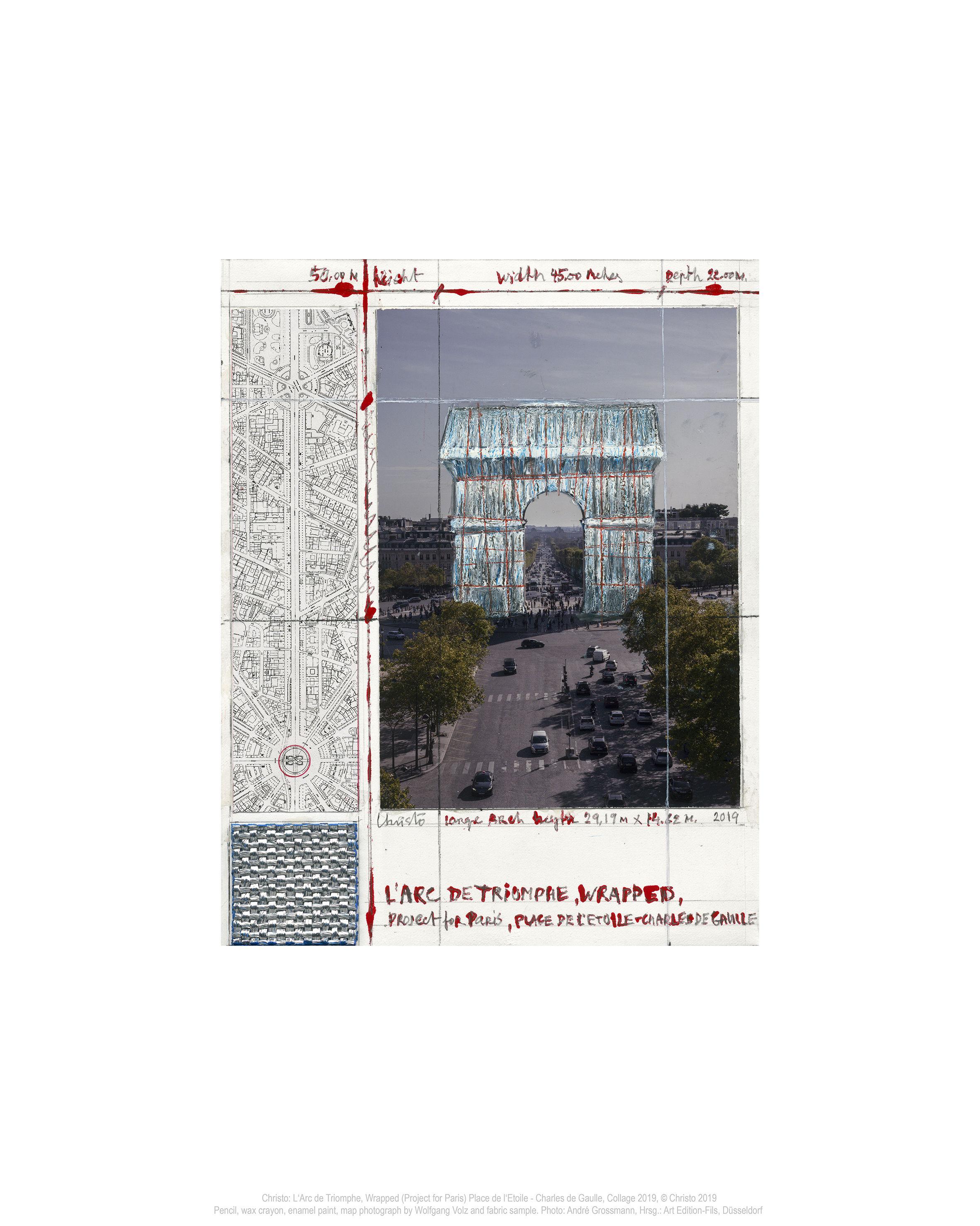 Arc de Triomphe II, Project for Paris