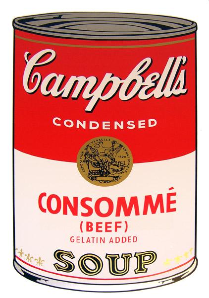 Campbell`s Soup - Consommé