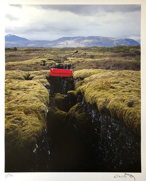 The Red Couch - Thingvellir, Island 2003