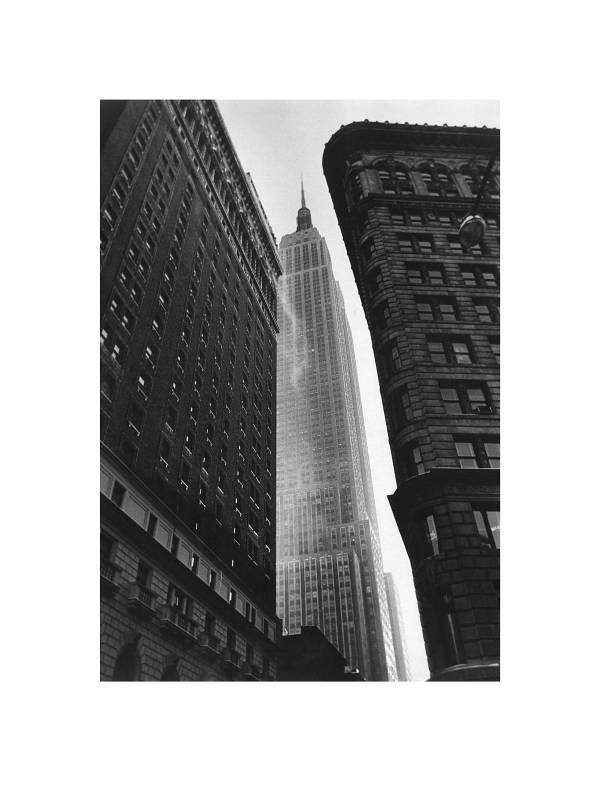 New York, Blick auf Empire State Building, 1961