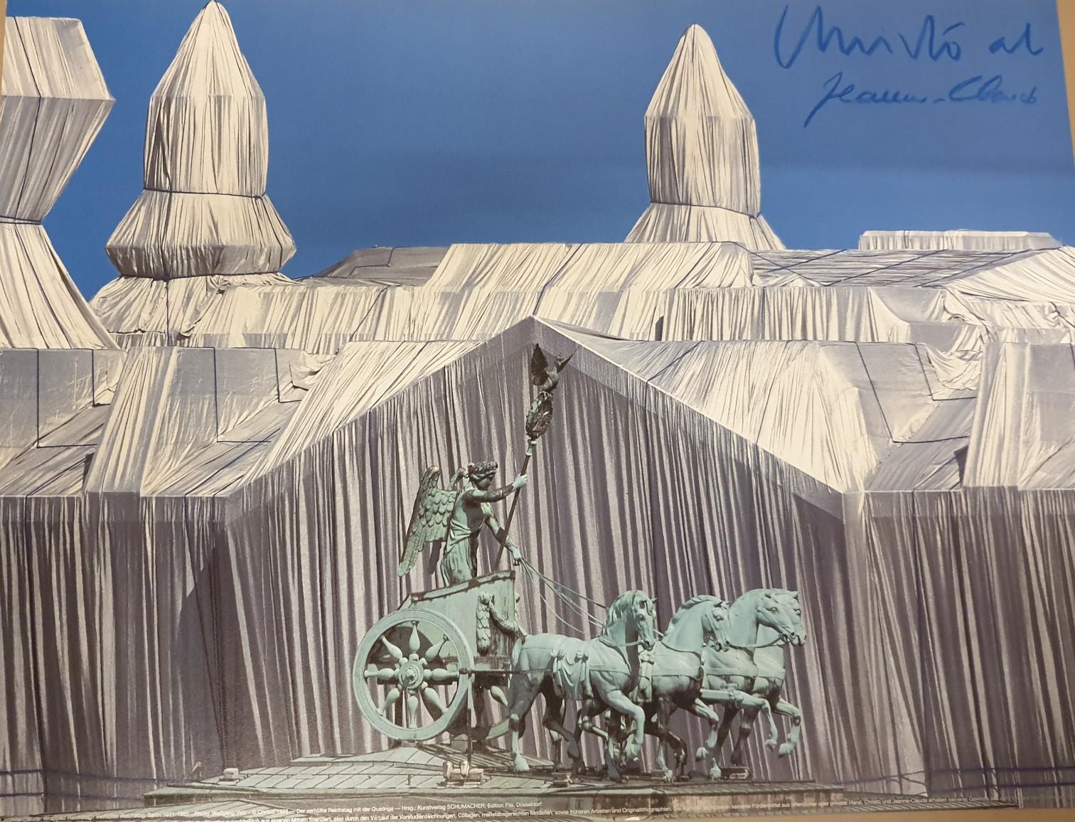 Reichstag mit Quadriga