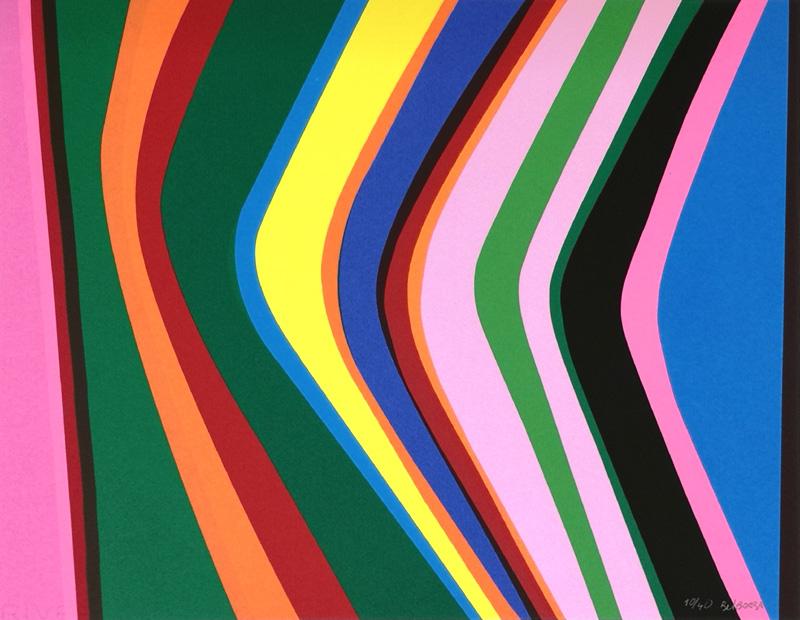 Landscape - Hommage to Gerhard Richter