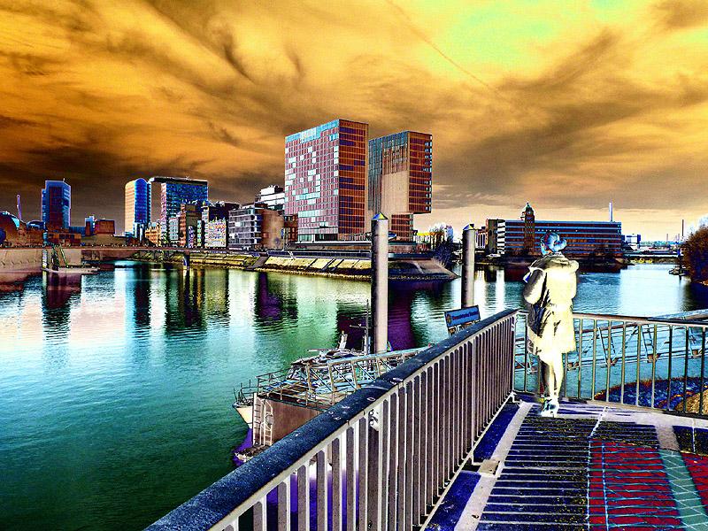 Düsseldorf Hafenspitze