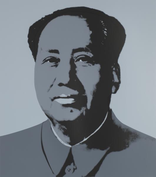Mao Tse-Tung Kopf Silber