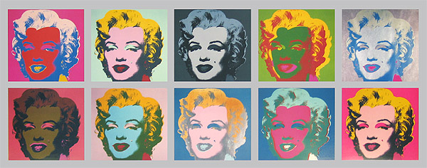 Marilyn Monroe Tableau