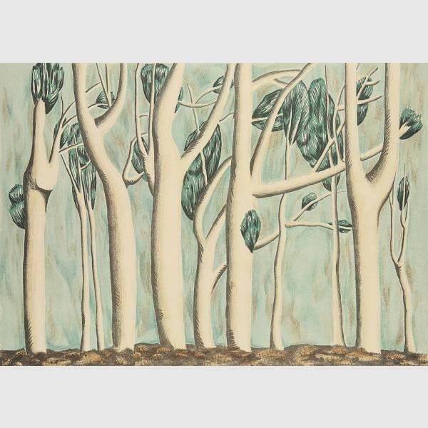 Bäume, 1950