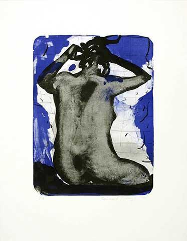 Rücken vor Blau I, 1999