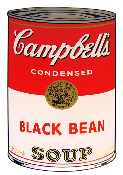 Campbell`s Soup - Black Bean