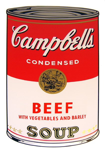 Campbell`s Soup - Beef vegetables