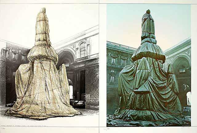 Wrapped Monument Leonardo, 2-teilig