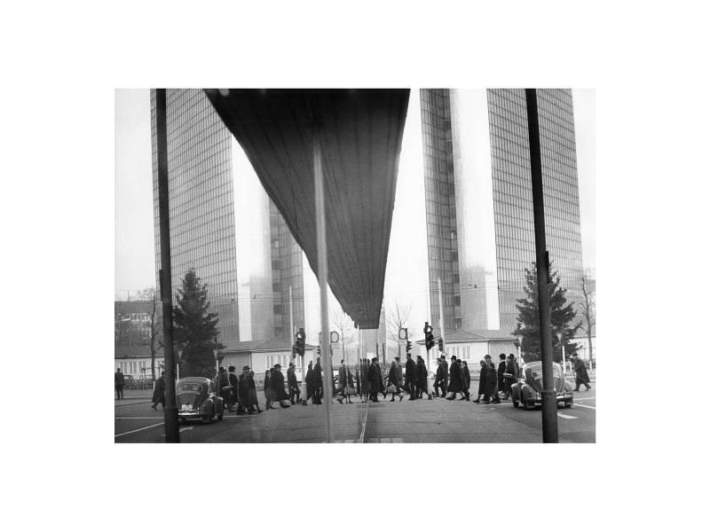 Düsseldorf, Schadow Platz, 1964