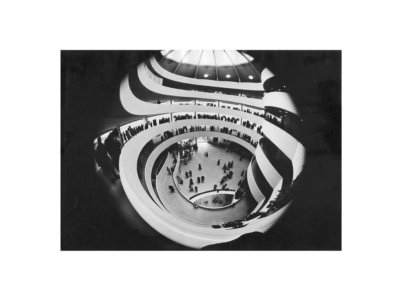 New York, Guggenheim Museum, 1965