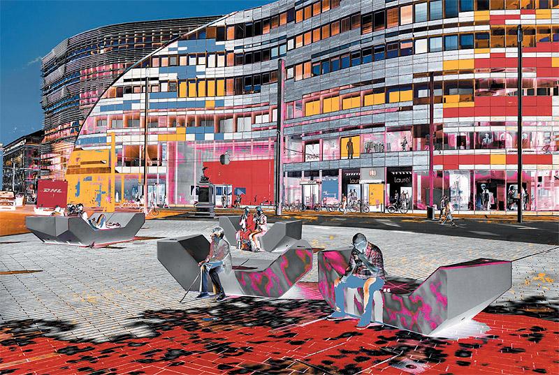Düsseldorf Schadowplatz